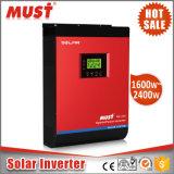 Hochfrequenz-MPPT Typ 24VDC Solarinverter-reine Sinus-Welle