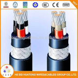 Eléctricos recubiertos con PVC de a bordo de alambre de cobre aislados con PVC, Cable de alimentación para Cable Arrocera