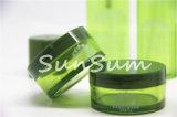 Bottiglia verde della lozione di imballaggio di plastica dell'animale domestico