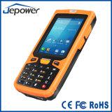 Androide Handheld PDA de Ht380A con el programa de lectura de NFC RFID y el explorador del código de barras