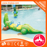 Cartoon Water Park Toys Spiral Water Slide para turistas