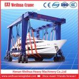 De Kraan van Rtg voor het Opheffen van Boot en Jacht