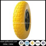 손 트롤리 4.00-8를 위한 편평한 자유로운 PU 거품 바퀴 타이어