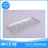 Bandeja de Alimentos de Aluminio de Plata de Alimentos