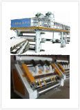 Vollautomatischer 3 Schicht-gewölbter Pappe-Produktionszweig