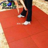 Mattonelle di pavimentazione di gomma esterne utilizzabili