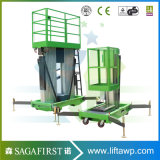 Aluminiumlegierung-Himmel-Aufzug-Mann-Aufzug-Plattformen 20 FT-6m zuhause