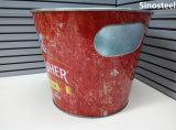 Cubeta de hielo de metal personalizados promocionales 5L