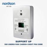 Système autonome de contrôle d'accès de porte de carte de proximité d'IDENTIFICATION RF en métal 125kHz ou 13.56MHz d'identification de fin de support