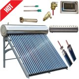 O tubo de depressão do tubo de calor aço inoxidável pressurizado coletor solar com aquecedor de água quente