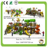 De nieuwe OpenluchtSpeelplaats van de Dia van Jonge geitjes Openlucht Plastic voor Verkoop (ty-70291)