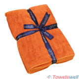 Orange Software Microfiber Terry Bath Towel