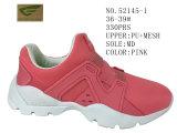 Deux chaussures occasionnelles de chaussures de femmes de couleurs