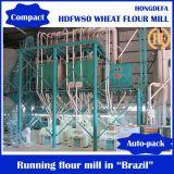 Máquina do moinho de farinha do trigo, maquinaria automática do moinho de farinha para o pão