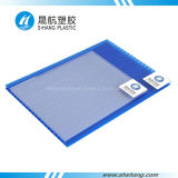UV Coating를 가진 Polycarbonate 녹색 쌍둥이 Wall PC Sunshade Sheet