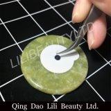 Papel disponible del pegamento con la piedra del jade para la extensión semi permanente de la pestaña
