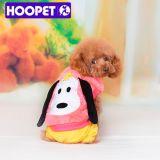 Cute Girl Flannel Vêtements pour animaux domestiques