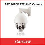 De Camera van het Toezicht van de Koepel van de Snelheid Ahd van kabeltelevisie 18X 1080P IRL PTZ
