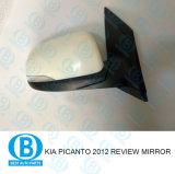 KIA Picanto 2012 Revisão carro fábrica na China do Espelho Retrovisor