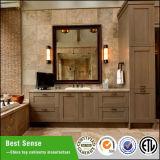 アメリカの新しいデザイン標準的な純木の骨董品の浴室用キャビネット