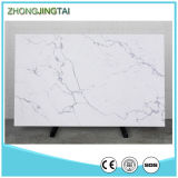 White puro Quartz Stone Calacatta Quartzite Countertops per Kitchen