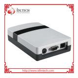 Leitor RFID UHF de quatro canais com WiFi, RJ45, Wg, RS485 Port