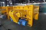 Mezclador de cemento gemelo resistente del eje Js750 para el concreto