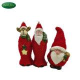 Decoración de Navidad Santa Claus de cerámica de la Figurilla
