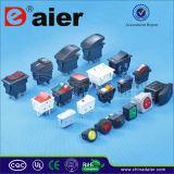 12V LED 3 Boat Rocker Switch Panels/Marine Circuit Breaker Panels