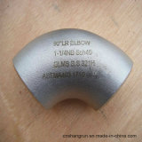 ASME/ANSI B16.9 321 316L codos Empalmar-Soldados 90 grados del acero inoxidable