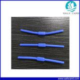Modifica dura della moneta dell'ABS RFID o modifica molle del silicone RFID di figura lunga per l'identificazione degli indumenti che segue nella lavanderia