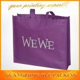 Shoping non tissé estampé par noir met en sac (BLF-NW247)