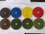 공장은 직접 SGS 제품 품질 관리 전기도금을 한 닦는 패드를 제공한다
