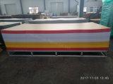 Die hitzebeständige 2mm Farben-transparentes Plastikplexiglas PMMA warf Acrylblatt