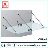 Toldo de vidro de segurança de aço inoxidável sólido (CNP-02)