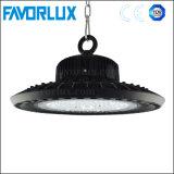 Alto indicatore luminoso della baia del UFO LED di lumen 125lm/W 150W IP65 alto