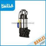 Pompe submersible de pression électrique de solides solubles pour l'eau encrassée