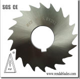 원형 금속 관 또는 관 타이어 또는 타이어는 고무 Slitter 절단 톱날 또는 칼을