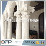 Colonne di pietra naturali smerigliatrice Polished/con il disegno elegante