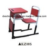 조정가능한 분홍색 학교 가구 학생 테이블 및 의자 세트