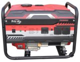 Beweglicher Generator des Benzin-6kw mit Griffen und Rädern