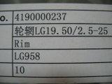 Rim19.50/2 Sdlg LG.5-25 4190000237 para cargador Sdlg LG936/LG956/LG958