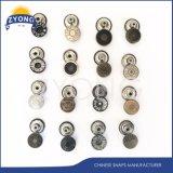 Металлическое кольцо стопорное кнопку Custom логотип торговой марки
