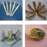 Hochgeschwindigkeitsring-Nagel, der Maschinen-Hersteller für Ladeplatten-Nagel bildet und Nagel Roofing