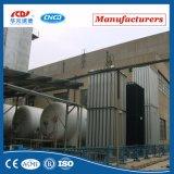 Vaporizador del aire ambiente de la presión inferior 50-20000nm3 del lar del Lox Ln2