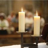 Hechos a mano sin Flama vela para uso doméstico realizado por cera de parafina