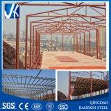 Frame de aço estrutural claro para a construção da oficina