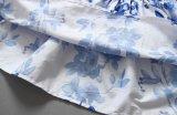 이동 인쇄를 가진 Froks에 있는 형식 꽃 아기 복장