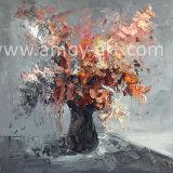Различные стили цветок с текстурированной поверхностью ручной работы картины маслом