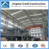 高層軽い鉄骨構造の工場建物